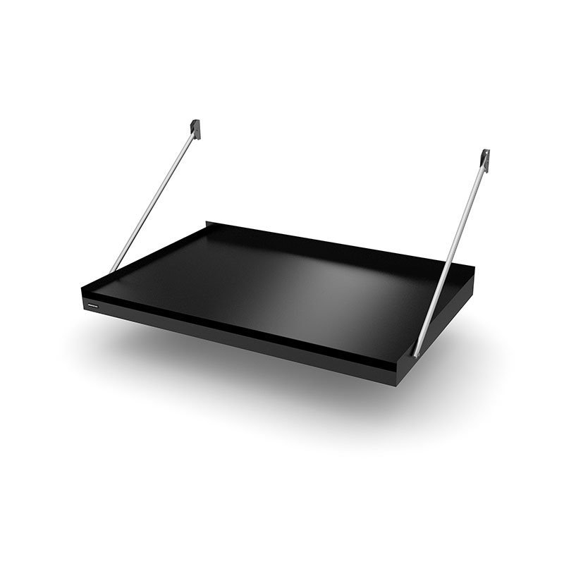 Designtak Modern Flat Ovikatos Musta