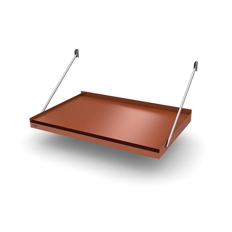 Designtak Modern Flat Ovikatos Tiilenpunainen
