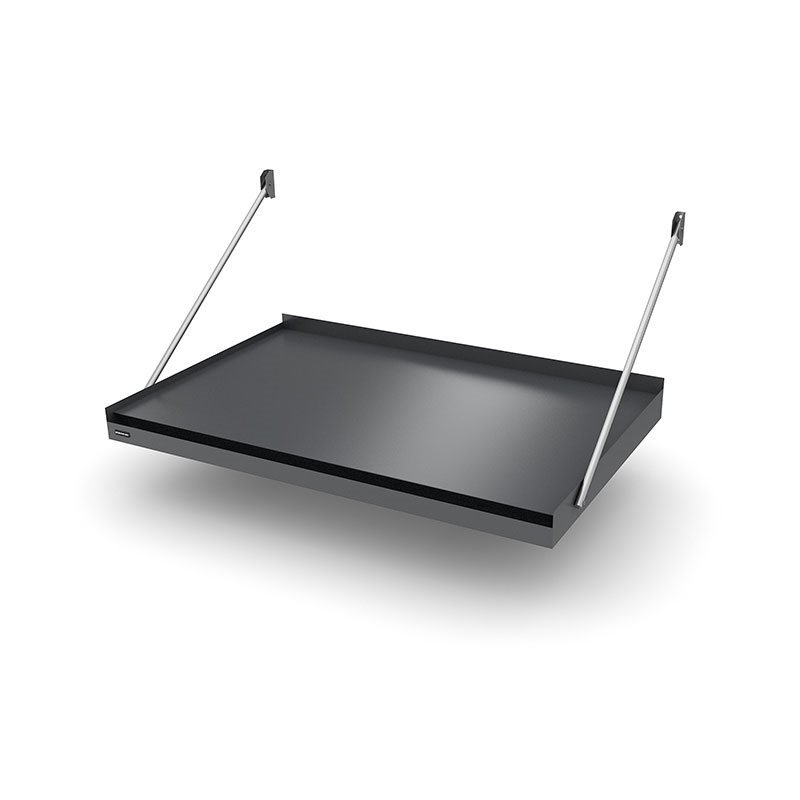 Designtak Modern Flat Ovikatos Tummanharmaa