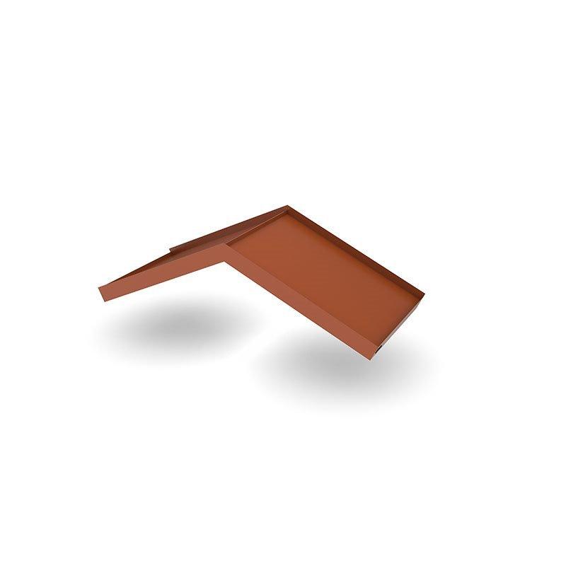 Designtak Simple Angled Ovikatos Tiilenpunainen